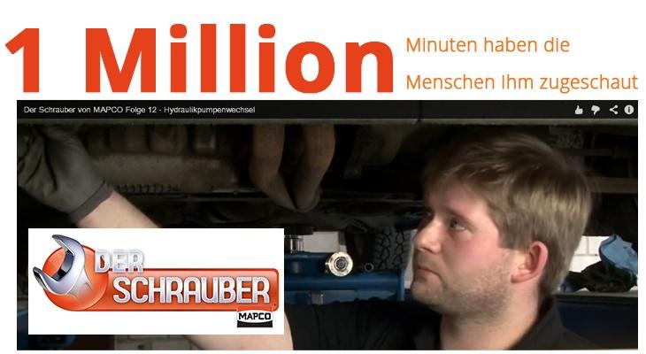 Über eine Million Sendeminuten mit dem MAPCO-SCHRAUBER